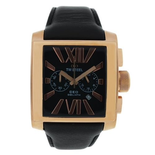 TW STEEL CEO Goliath Rose Gold Chronograph Gents Watch CE3012